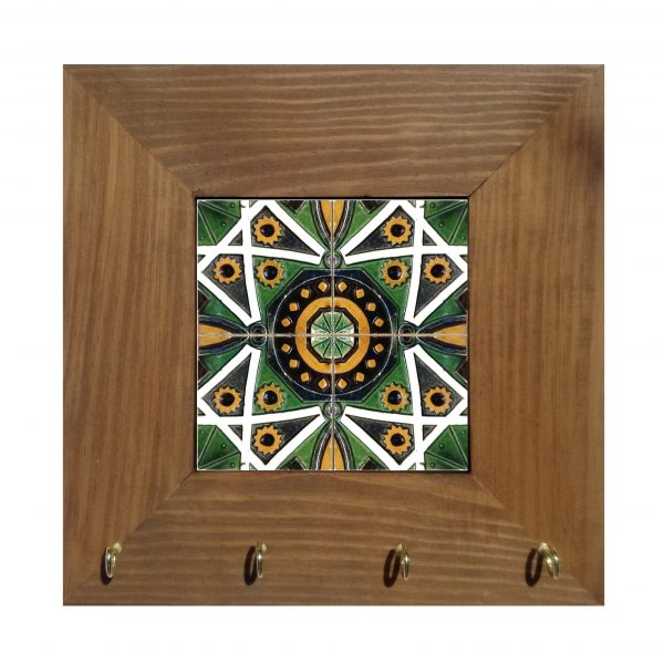 chaveiro azulejo português