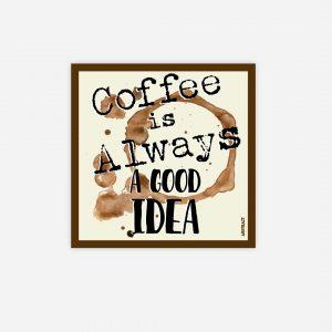 íman azulejo café