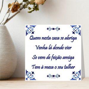 azulejo provérbio português