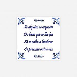 íman azulejo provérbio português