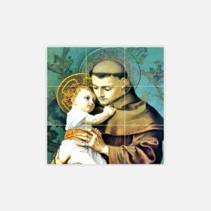 íman azulejo santos populares