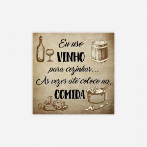 íman azulejo vinho
