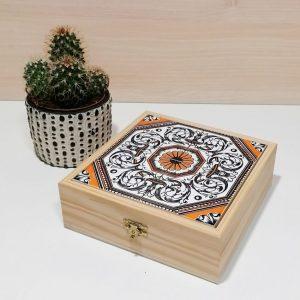 caixa azulejo portugues