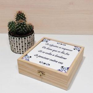 caixa azulejo