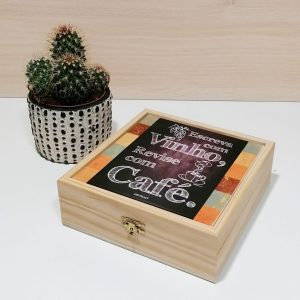 caixa azulejo cafe